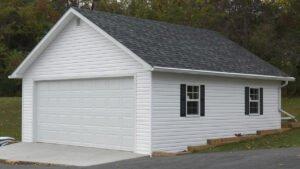 Slow Opening Garage Door