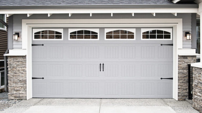 Cleaning And Lubricating Garage Door
