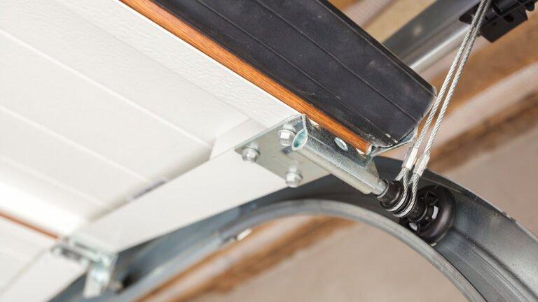 How to Adjust Garage Door Tracks