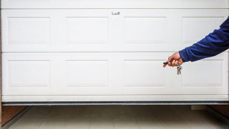 Can't Open Your Garage Door